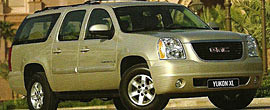 GMC Yukon XL - Rent a big bold statement